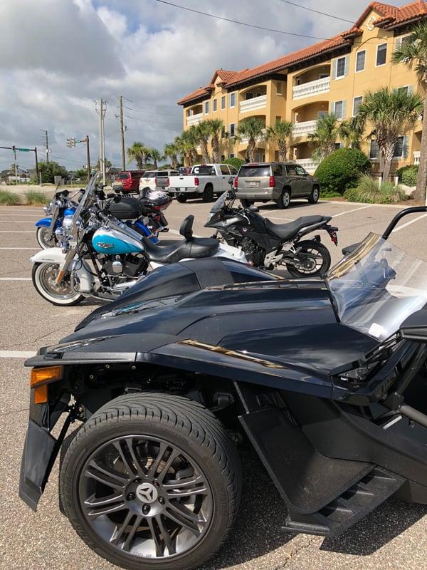 A photo of some FBGz members bikes