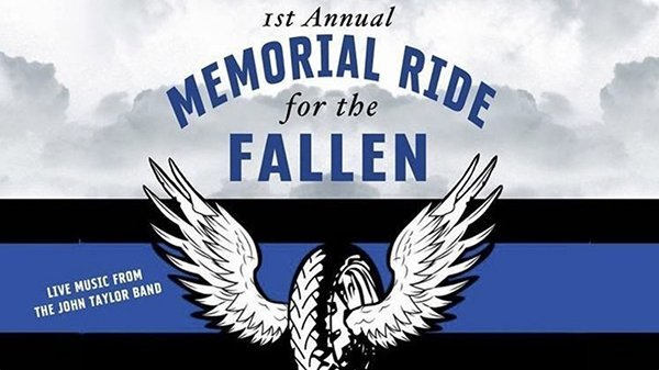 1st Annual Memorial Ride for the Fallen logo